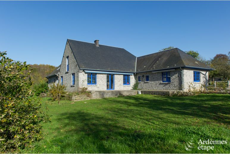 Holiday cottage in Yvoir (Crupet) for 14 persons in the Ardennes